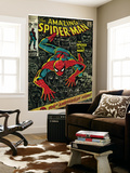 Marvel Comics Retro: The Amazing Spider-Man Comic Book Cover No.100, 100th Anniversary Issue (aged) Póster