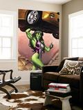 She-Hulk No.2 Cover: She-Hulk Print by Adi Granov