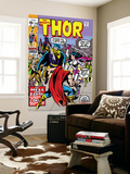 Thor 179 Cover: Thor, Balder and Sif Prints by Jack Kirby