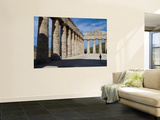 Young Boy in Segesta Temple Prints by Olivier Cirendini
