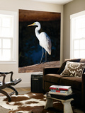 Great Egret on Gibb River Art by Kerry Lorimer