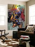 What If Newer Fantastic Four 1 Group: Thanos, Death and Mephisto Print by Patrick Scherberger