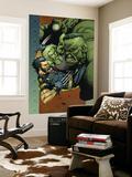 Ultimate Wolverine vs. Hulk No.4 Cover: Wolverine, Hulk and She-Hulk Print by Leinil Francis Yu