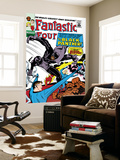 Fantastic Four No.52 Cover: Mr. Fantastic Prints by Jack Kirby