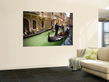 Gondola on Canal in San Marco Prints by Glenn Beanland