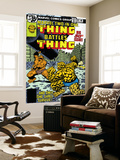 Marvel Two-In-One No.50 Cover: Thing Fighting Prints by John Byrne