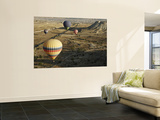 Hot-Air Balloon Rides over Cappadocia Poster by Seong Joon Cho