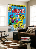 New Mutants Annual 3 Cover: Impossible Man and Warlock Affiche par Alan Davis