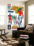 New Mutants 99 Cover: Cable, Sunspot, Warpath, Cannonball, Domino, Boom Boom and New Mutants Posters by Rob Liefeld