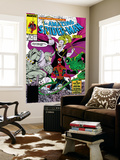 Amazing Spider-Man No.319 Cover: Spider-Man, Blacklash, Scorpion and Rhino Prints by Todd McFarlane