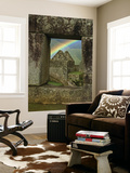 Rainbow Seen Through Temple of Three Windows Prints by Emily Riddell