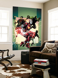 Young Avengers 3 Cover: Iron Lad, Wiccan, Hulkling and Patriot Prints by Jim Cheung