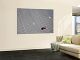 Arial of Parked Car Prints by Shayne Hill