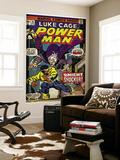 Marvel Comics Retro: Luke Cage, Hero for Hire Comic Book Cover No.26, the Night Shocker! (aged) Posters