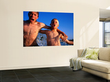 Young Guys from Queensland Enjoy a Cooling Down Swim Prints by Oliver Strewe
