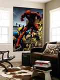 Wolverine No.24 Cover: Daredevil and Wolverine Plakater af Greg Land