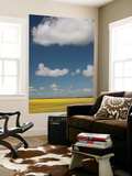 Canola Fields and Clouds in the Canadian Prairies Prints by Todd Lawson