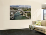 Mesi Bridge (Ura E Mesit) over the Kiri River Prints by Patrick Syder