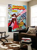 Avengers West Coast 43 Cover: Scarlet Witch Poster by John Byrne
