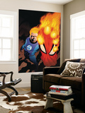 The Amazing Spider-Man 591 Cover: Human Torch Posters by Barry Kitson