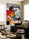 Avengers West Coast 42 Cover: Scarlet Witch, Tigra, Wonder Man, Hawkeye and West Coast Avengers Prints by John Byrne