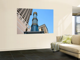 Minaret of Saigon Mosque in Front of High-Rise Buildings Poster by Antony Giblin