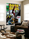 Daredevil 47 Cover: Daredevil Swinging Posters by Gene Colan