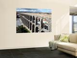 Roman Aqueduct (Aqueduct of Segovia) Art by Bruce Bi