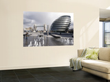 City Hall with Tower Bridge in Background Prints by Rick Gerharter