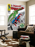 The Amazing Spider-Man No.64 Cover: Vulture and Spider-Man Fighting Prints by Don Heck