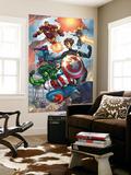 Avengers No.84 Group: Captain America, She-Hulk, Lionheart, Iron Man, Hawkeye and Avengers Prints by Scott Kolins