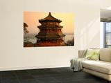 The Temple of Buddhist Virtue at Wanshou San (Longevity Hill) at Yiheyuan (Summer Palace) Prints by Manfred Gottschalk