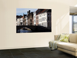 Small Bridge over Canal in Old Town Prints by Bruce Bi