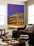 Colosseum and Traffic on Via Del Fori Imperiali Prints by Richard l'Anson