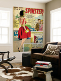 Marvel Comics Retro: Love Comic Panel, Spinster (aged) Prints