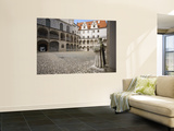 Courtyard of the Castle Prints by Aldo Pavan