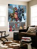 Marvel Knights 4 No.20 Group: Black Bolt, Medusa, Lockjaw, Triton, Karnak and Inhumans Posters by Valentine De Landro
