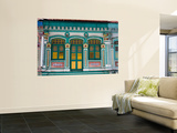 Peranakan Terrace House on Upper Weld Street, Little India Prints by Kevin Clogstoun