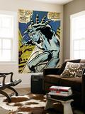 Marvel Comics Retro: Silver Surfer Comic Panel (aged) Print