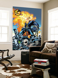 Ghost Rider V3 No.6 Cover: Ghost Rider and Gunmetal Gray Print by Trent Kaniuga