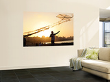 Kite Flyer Along the Corniche Prints by Michael Benanav