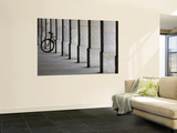 Bicycle Wheel in Arcade Prints by David Borland