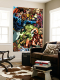 Dark Reign: Young Avengers 5 Group: Patriot Prints by Mark Brooks