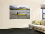 Paddling in Zoe Bay Posters by Andrew Bain