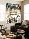 New X-Men No.19 Group: Prodigy, Hellion, Mercury, Wind Dancer, Dust, New Mutants and Hellions Posters by Aaron Lopresti