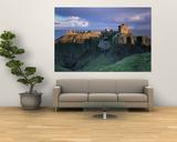Castle, Stonehaven, Grampian, Aberdeen, Scotland Prints