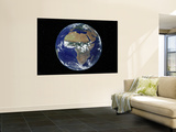 Full Earth Showing Africa, Europe During Day, 2001-08-07 Print