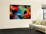 Artist's Concept Illustrating Our Beautiful Cosmic Universe Posters par  Stocktrek Images