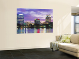 Panoramic View of an Urban Skyline at Night, Orlando, Florida, USA Posters