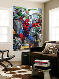 Spider-Man, Doctor Octopus, Green Goblin, Vulture, Black Cat, Electro, Lizard, Rhino and Sandman Print